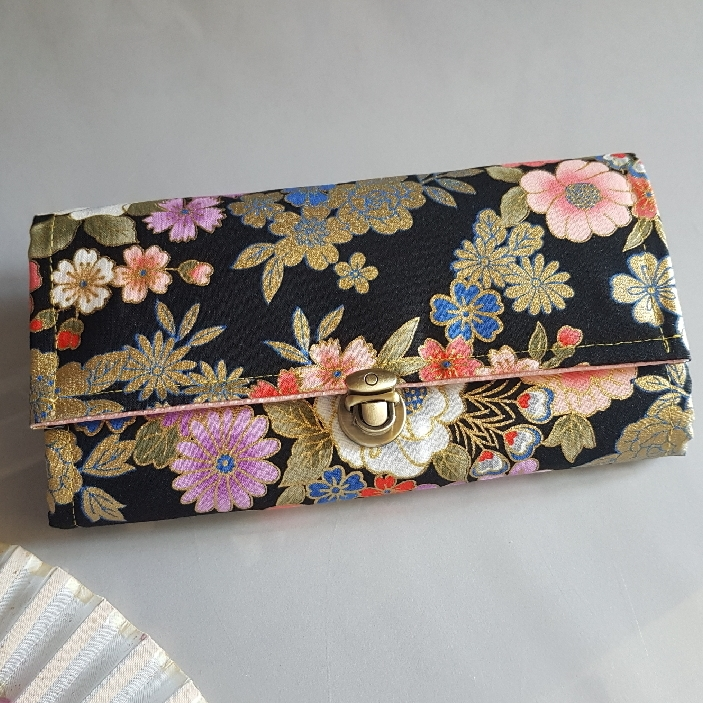 "8.3"" Long wallet card coin holder - Kanako"