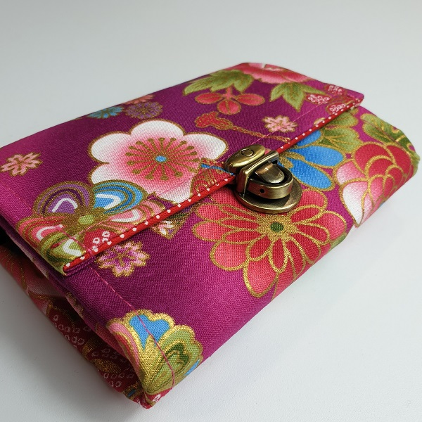 "5.5"" cards and coins wallet  - Akane fucsia"