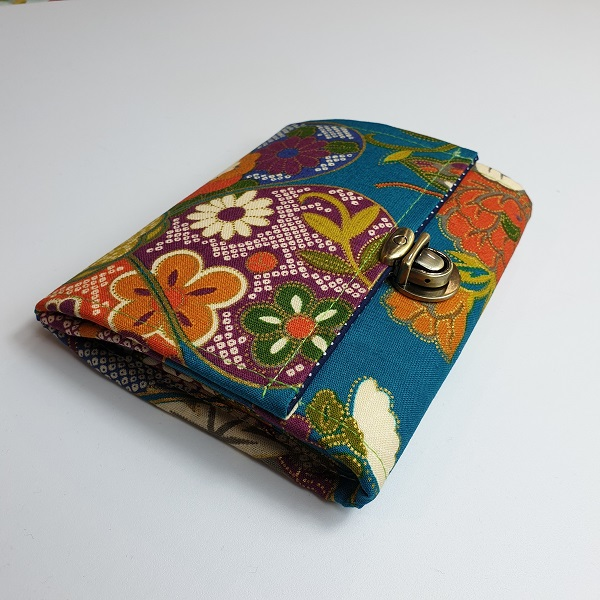"5.5"" cards and coins wallet  - Yuka green"