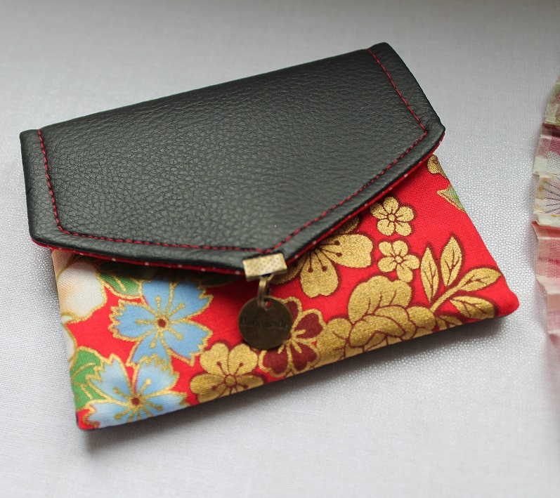 Card case - Kanako red