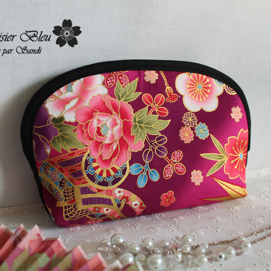 cosmetic make up pouch  - Akane