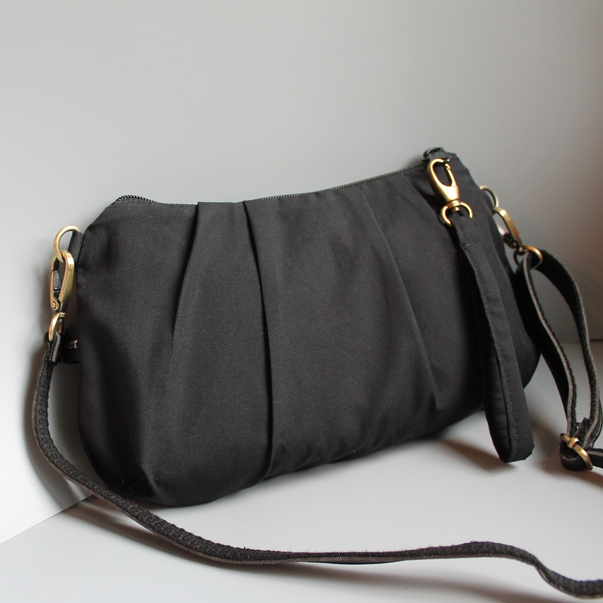 Evening date clutch -  Black