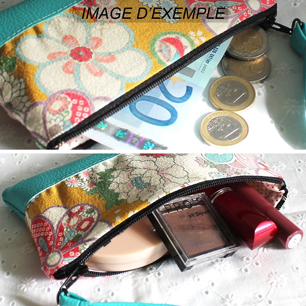 Zippered Coin purse - Akina