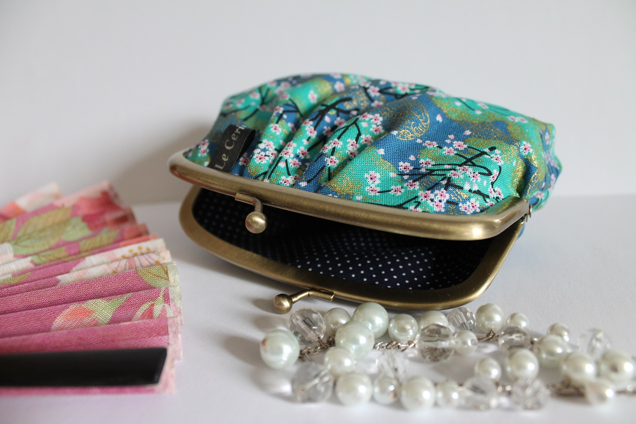 Coin Purse  - Akina turquoise