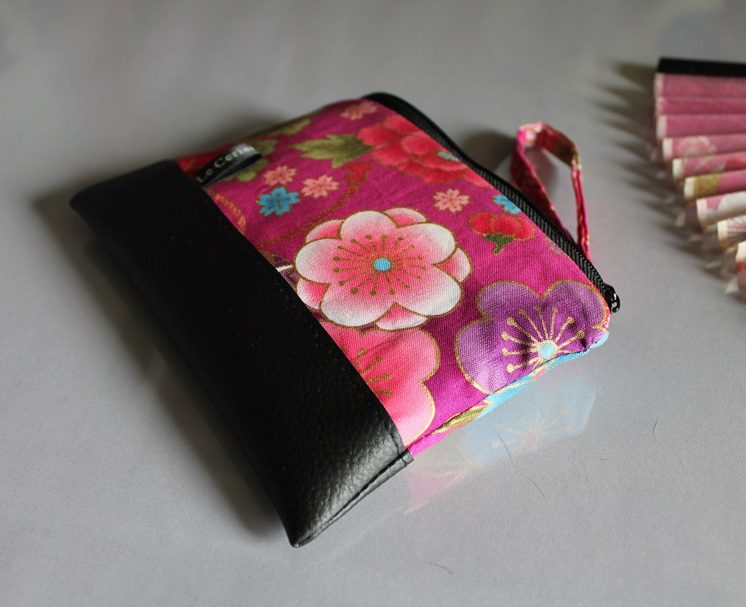 Zippered Coin purse - Akane