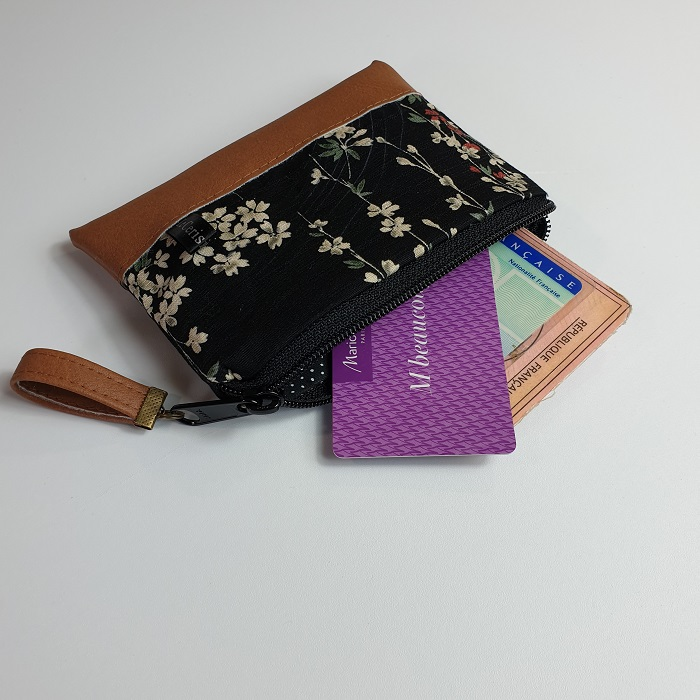 Zippered Coin purse - Aki