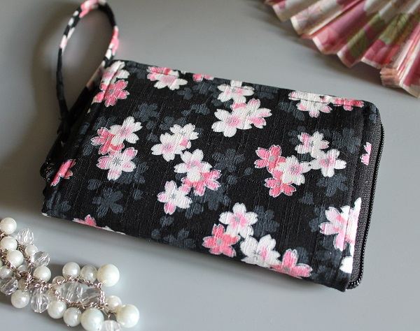 "5.5"" zippered Cards and coins wallet - Manami"