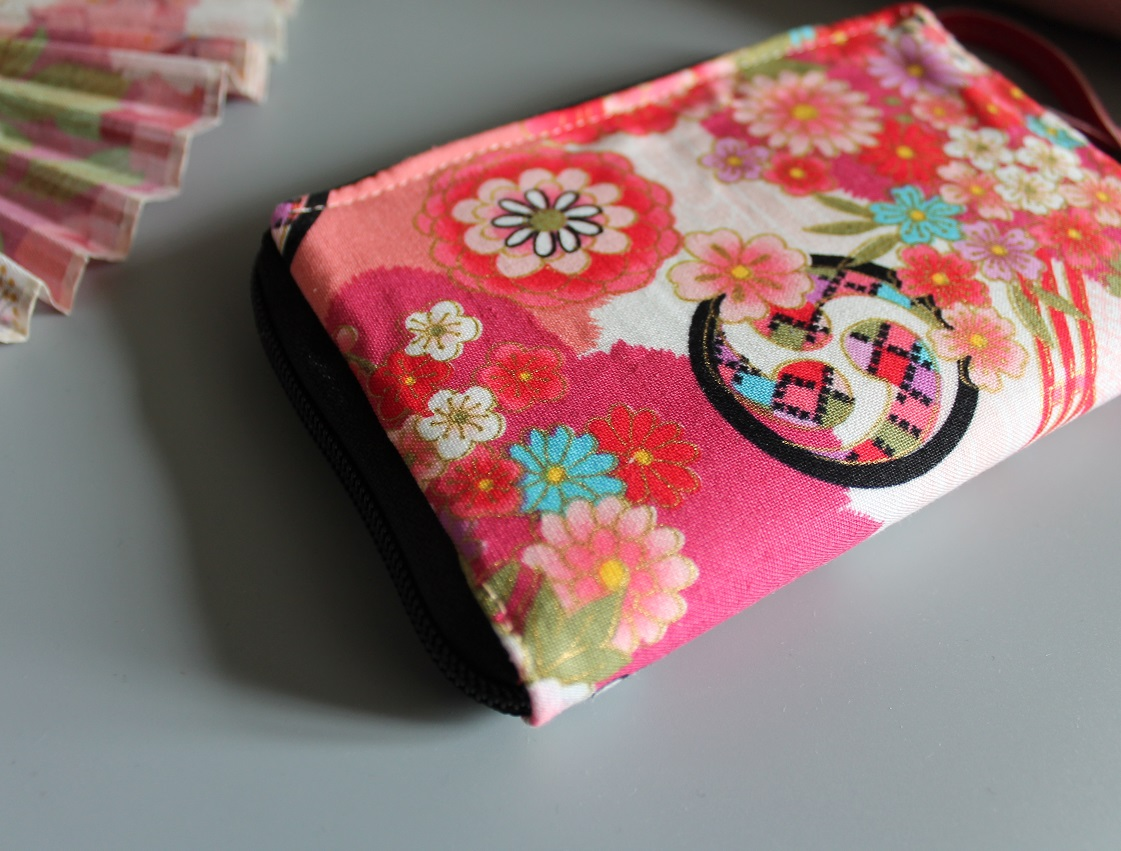 "5.5"" zippered Cards and coins wallet - Umika 2"