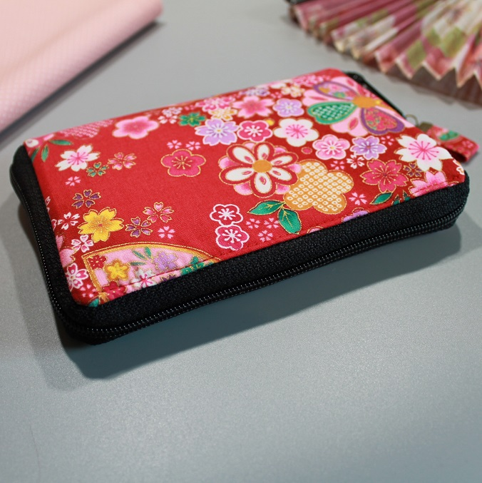 "5.5"" zippered Cards and coins wallet - Miya"