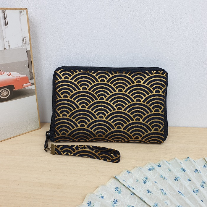 "5.5"" zippered Cards and coins wallet - Nami"