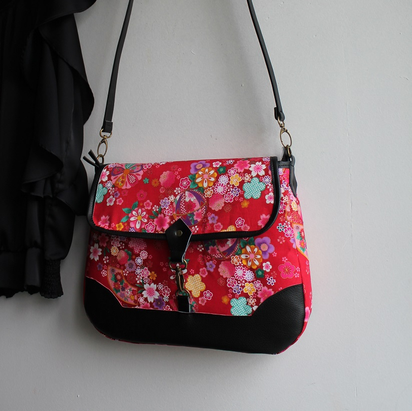 Cross body messenger bag - Miya