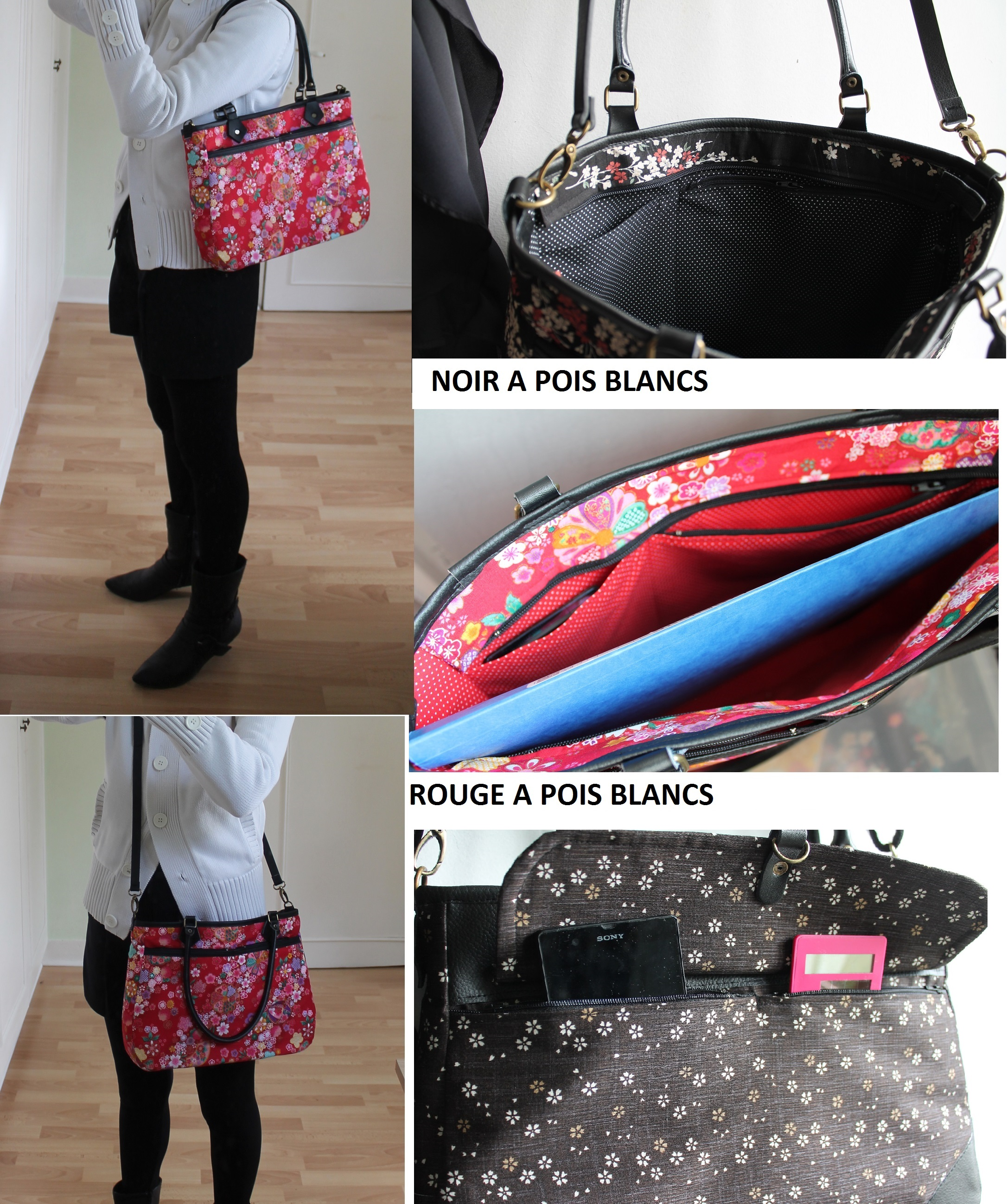 Cross body or shoulder bag - Tombo