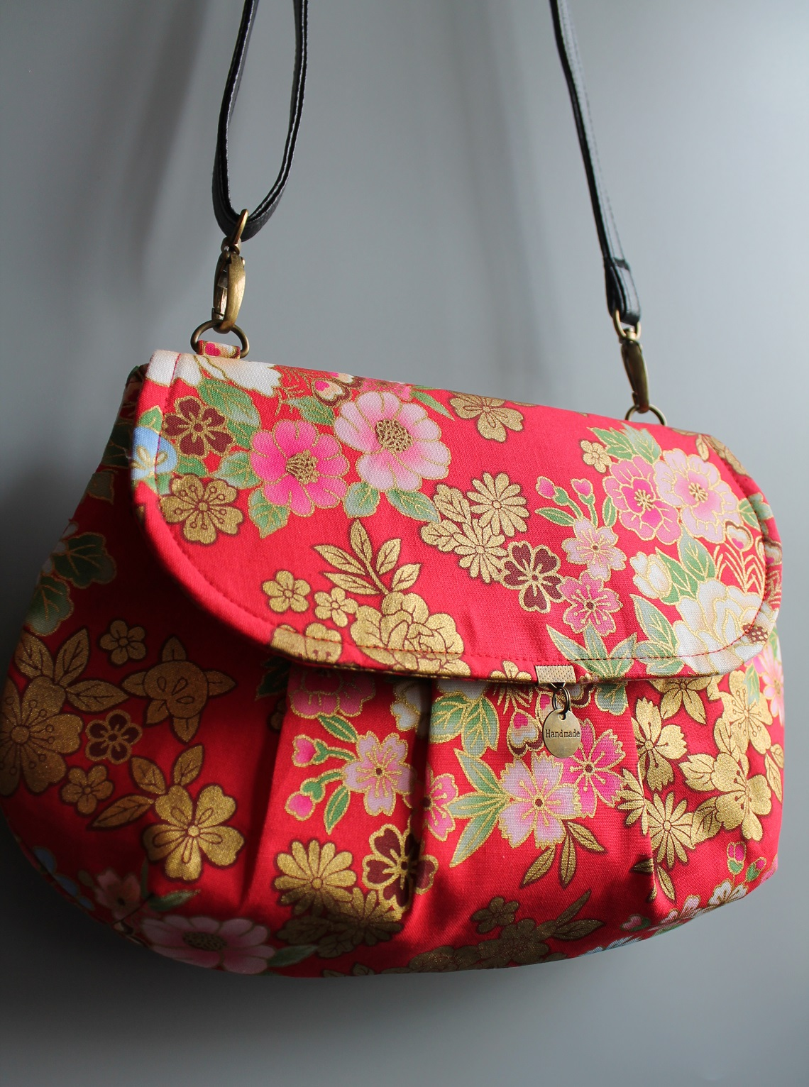 cross body clutch - Kanako red