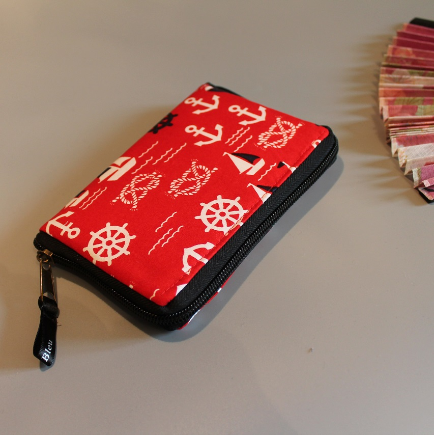 "5.5"" zippered Cards and coins wallet - special2"