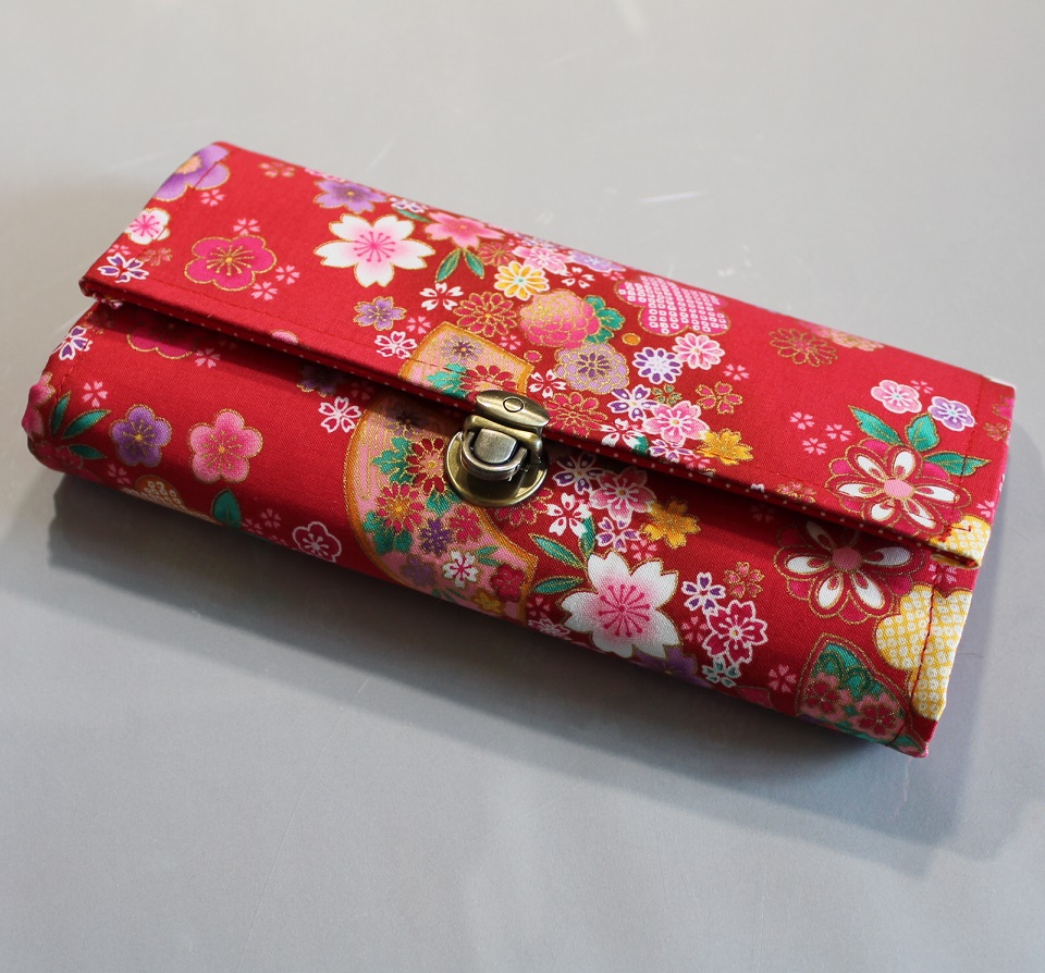 "8.3"" Long wallet card coin holder - Miya"
