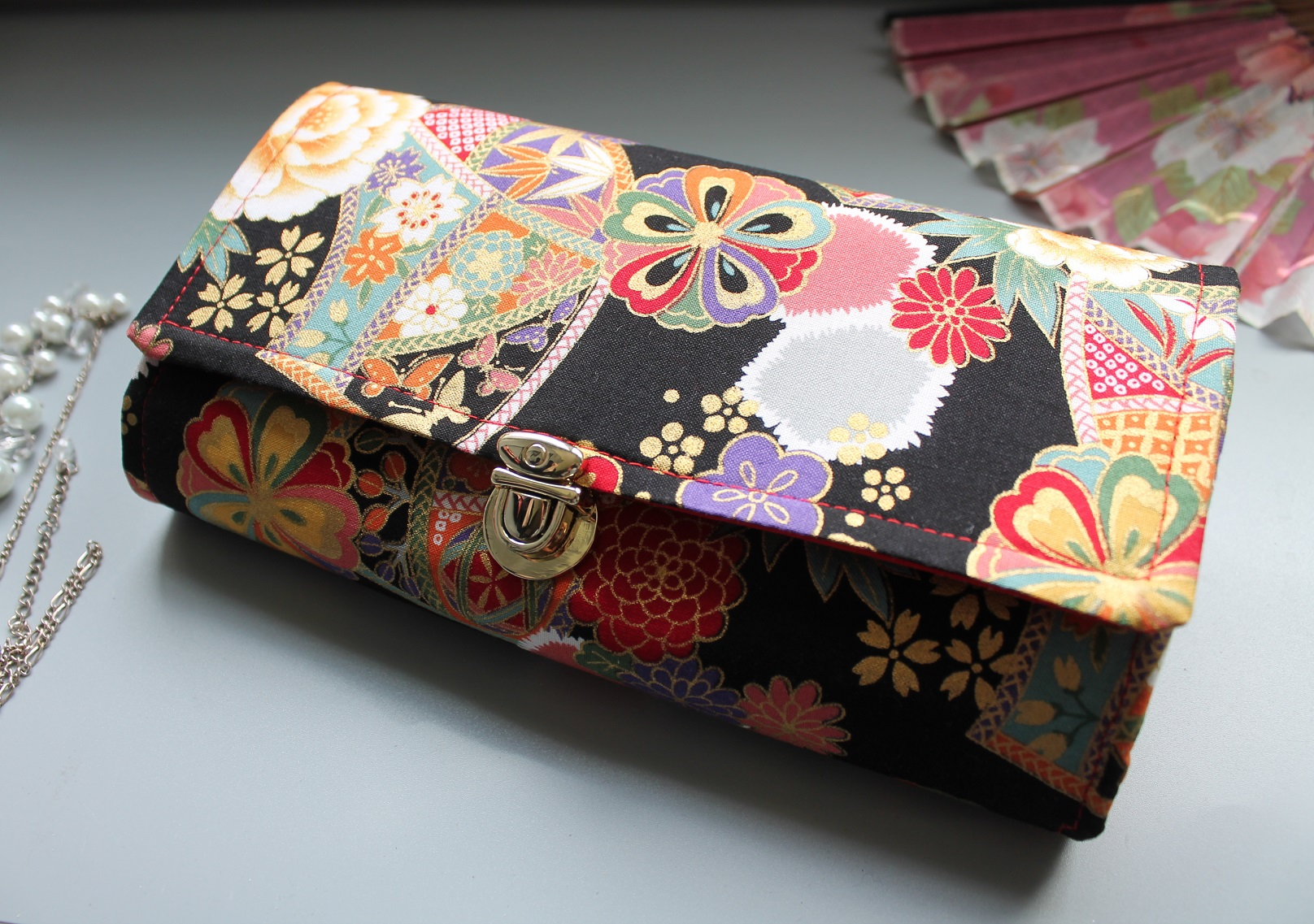 "8.3"" Long wallet card coin holder - Kana"