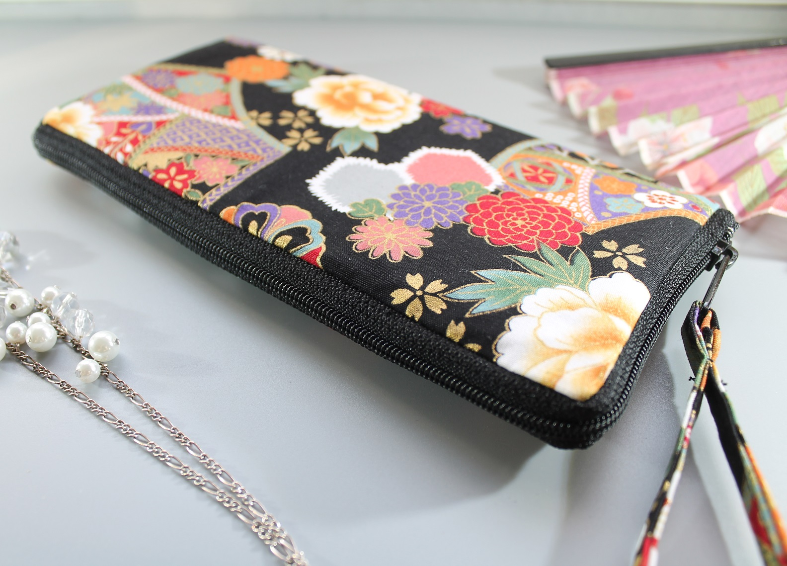"8.3"" long zippered wallet - Kana"