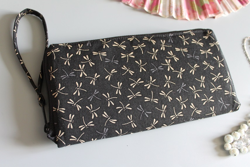 "8.3"" long zippered wallet - Tombo"