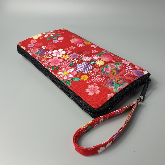"8.3"" long zippered wallet - Miya"